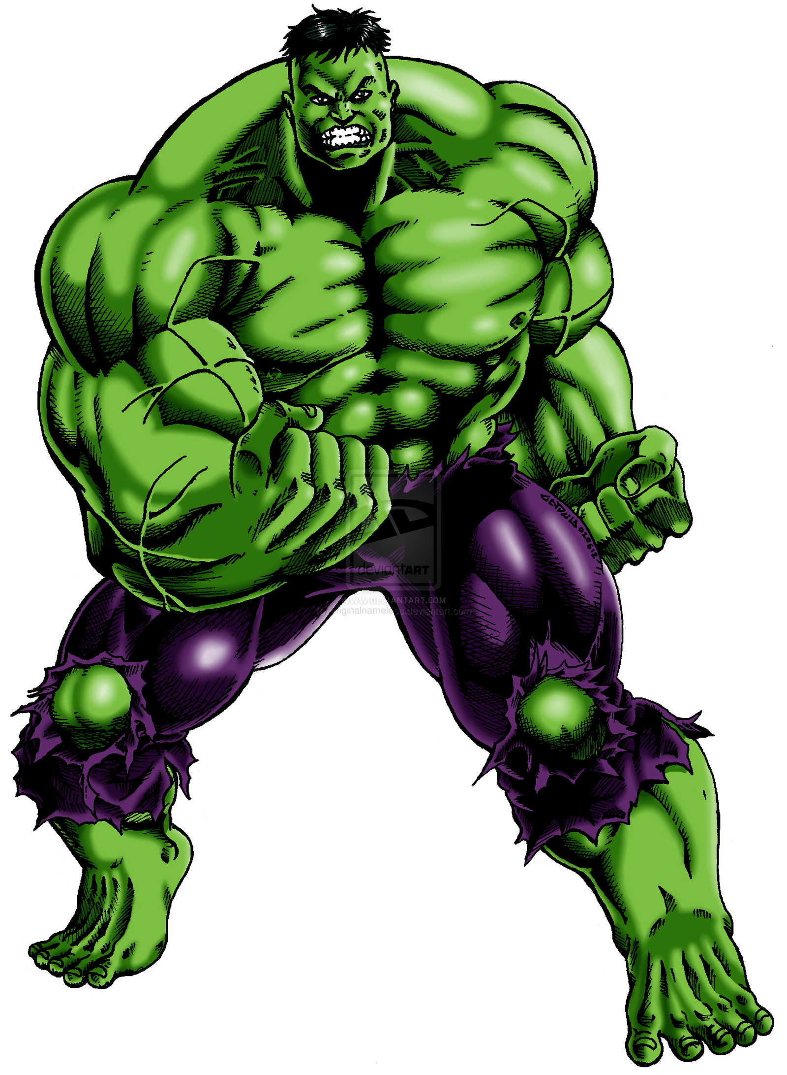 Hulk Clipart | Free download on ClipArtMag