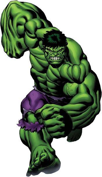 352x610 Comic Clipart Hulk