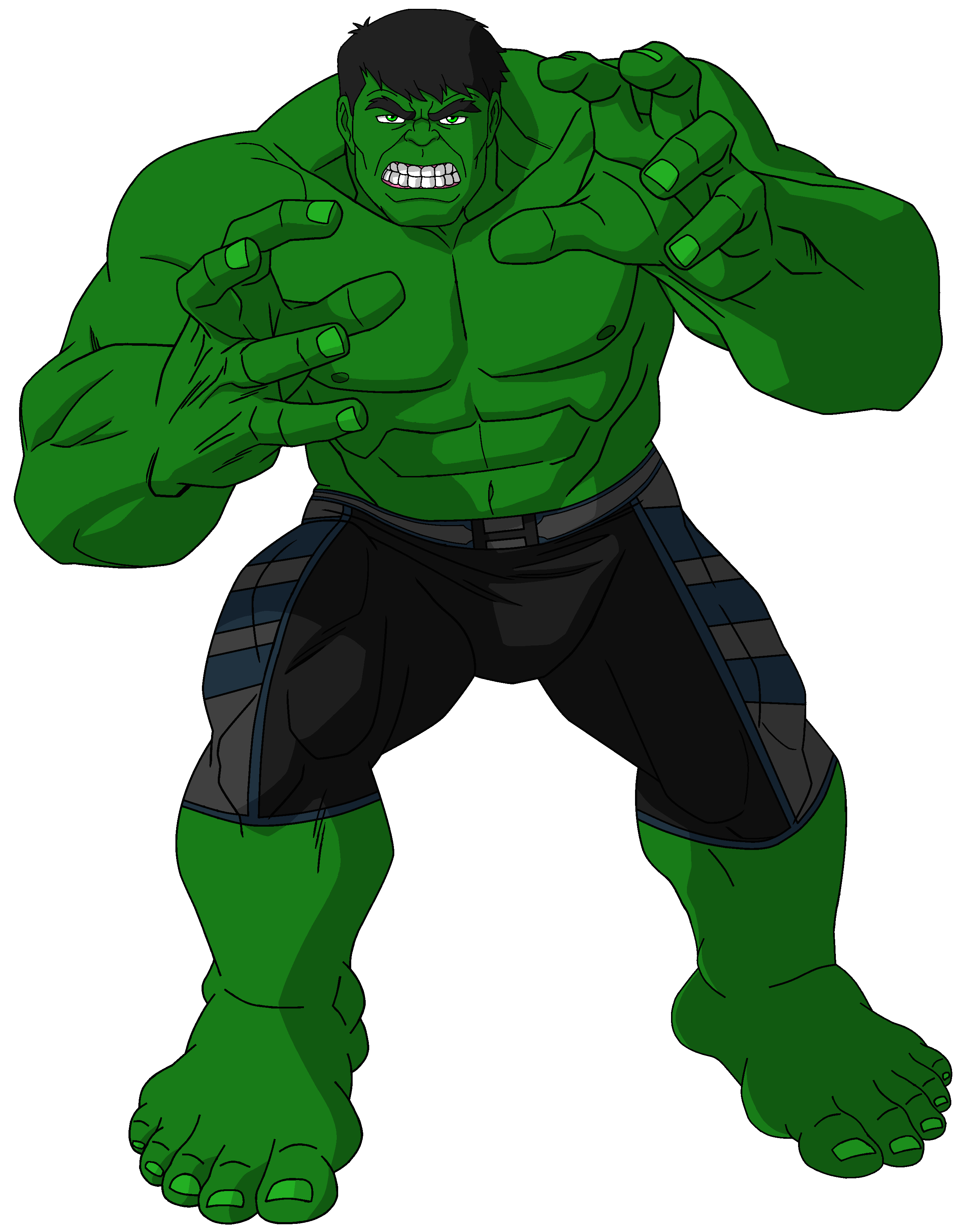 It's just a photo of Gratifying Incredible Hulk Clipart