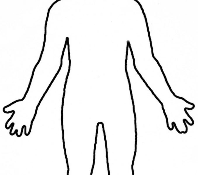image regarding Printable Body Outline titled Human System Determine Printable Cost-free obtain ideal Human System