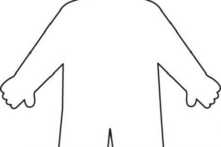 450x300 Human Clipart Body Outline