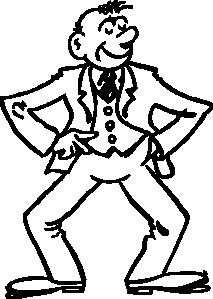 213x299 Cartoon Man Clip Art