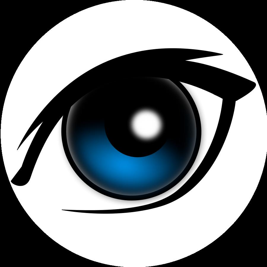 900x900 Eyeball Clipart One Eye