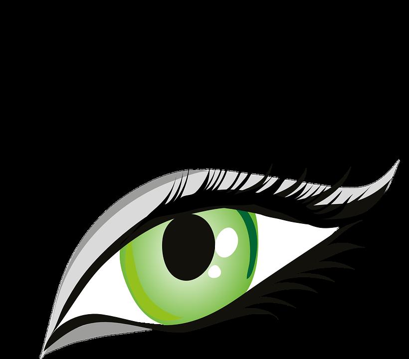 820x720 Green Eyes Clipart Human Eye