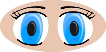425x209 Blue Eyes Clipart Human Eye