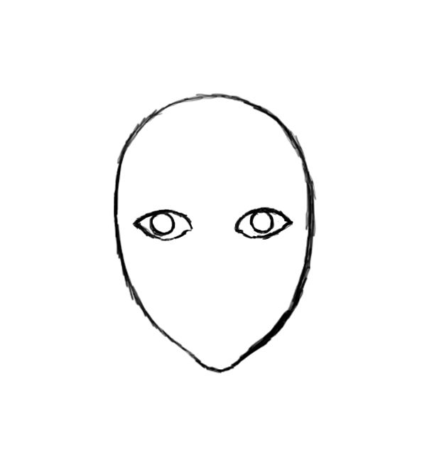 615x665 Human Face Outline Drawing Thewealthbuilding