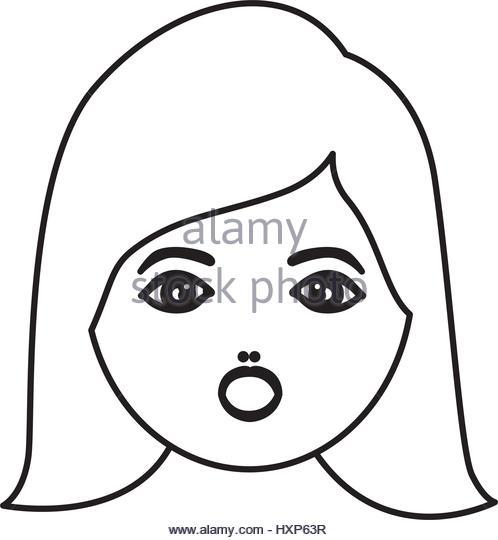 498x540 Outline Vector Human Head Face Stock Photos Amp Outline Vector Human
