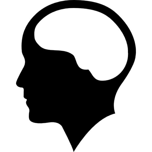 626x626 Brain Inside Human Head Icons Free Download