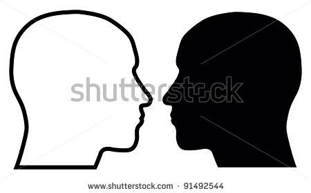 450x280 Clipart Human Head Black And White, Free Clipart Human Head Black