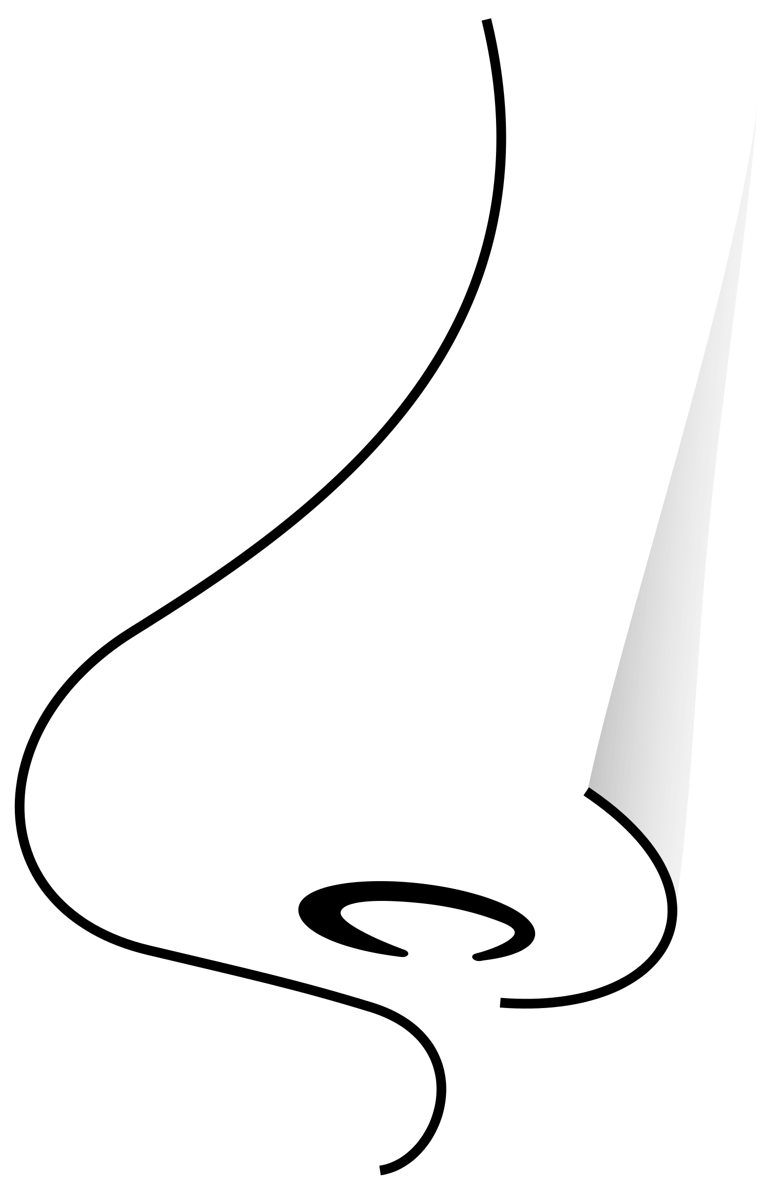 1558x2400 Best Nose Clipart