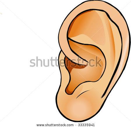 450x438 Cartoon Ears Clipart