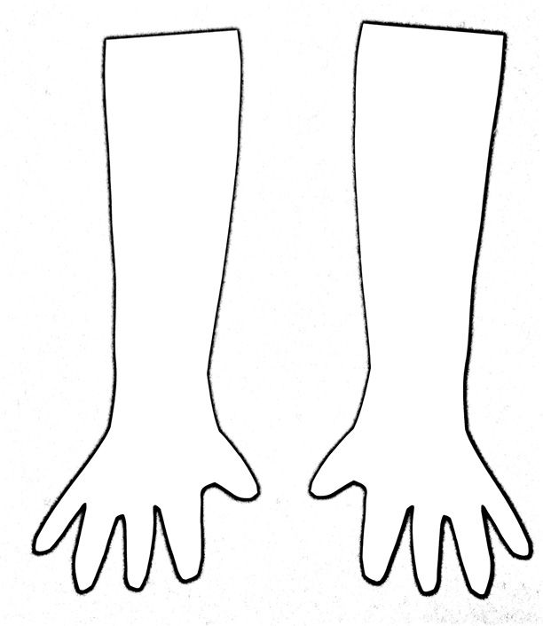 Forearm Template: Free Download On ClipArtMag