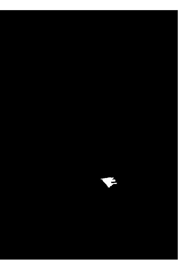 600x907 Kneeling Silhouette Clip Art