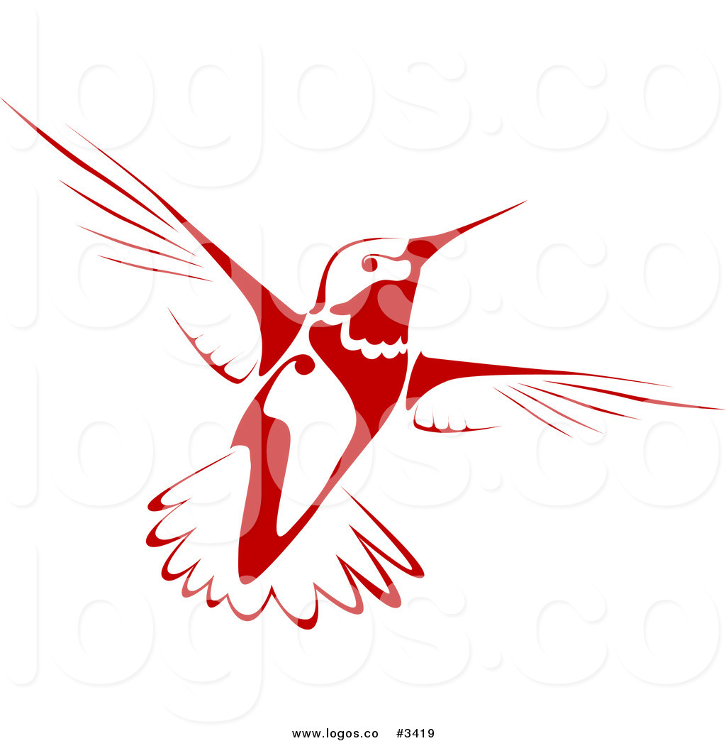 1024x1044 Royalty Free Flying Hummingbird Logo By Vector Tradition Sm