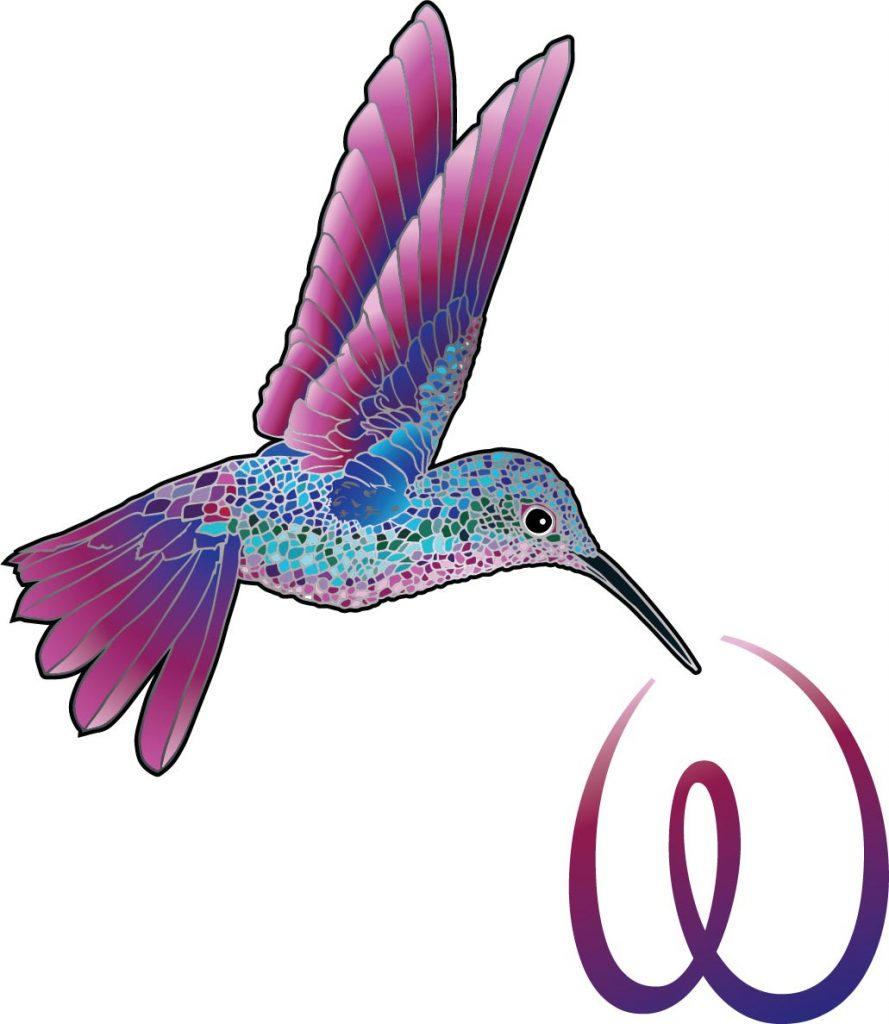 889x1024 About My Hummingbird Symbol