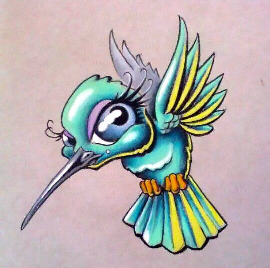 Hummingbird Cartoon Images