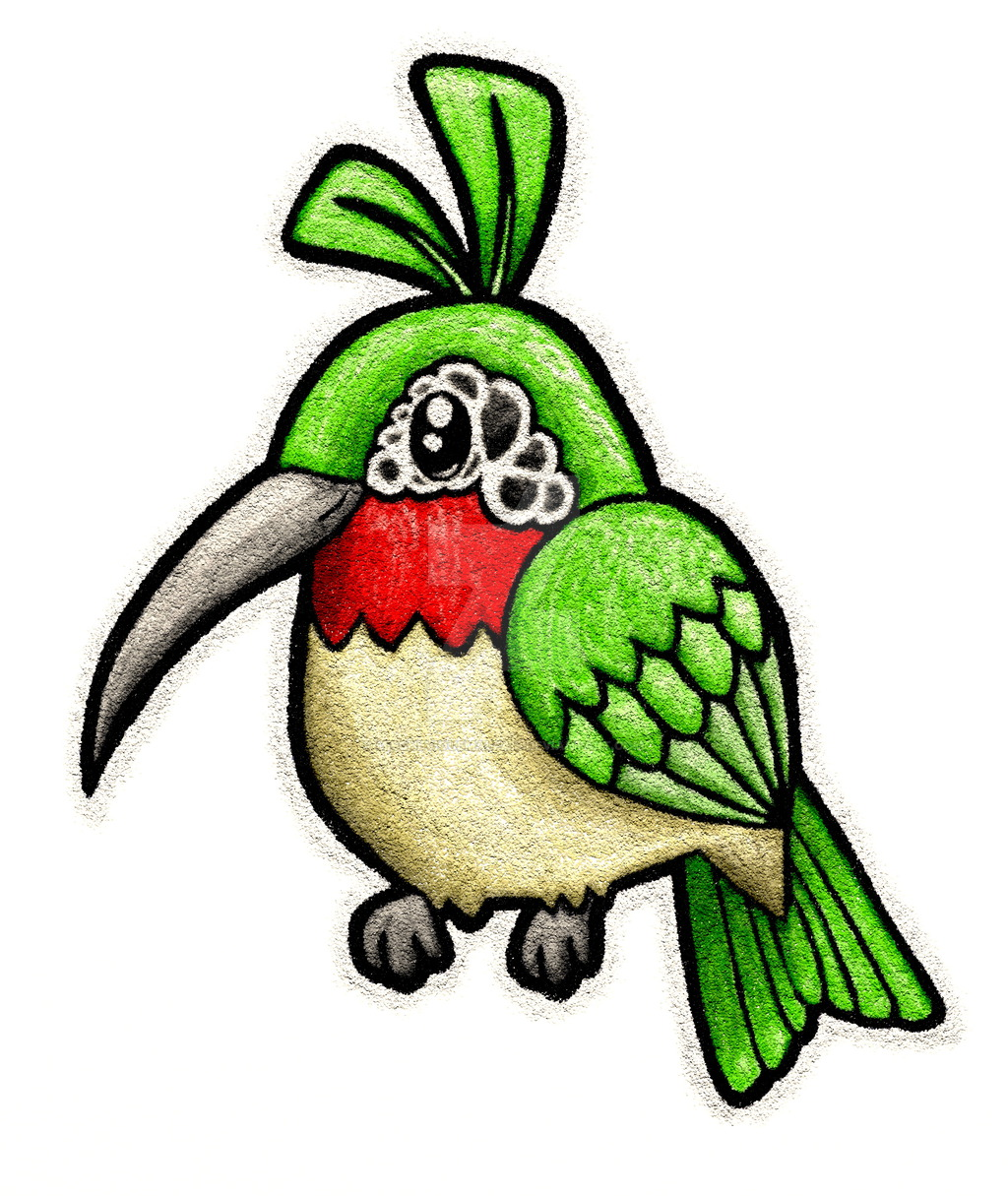 1024x1215 Estive, The New And In Cartoon! (Hummingbird) By