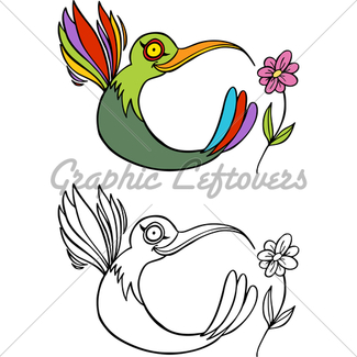325x325 Hummingbird Gl Stock Images