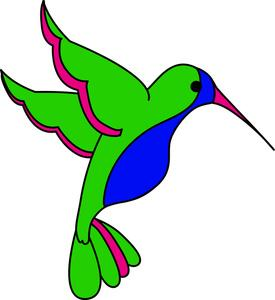 275x300 Bird Hummingbird Clipart