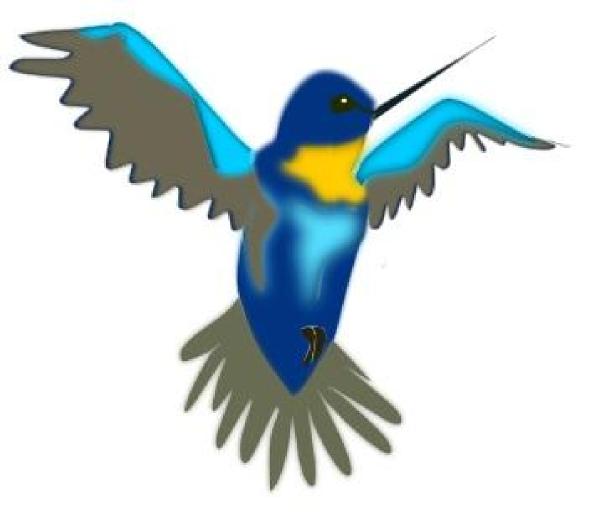 600x520 Hummingbird Clip Art