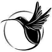 170x170 Hummingbird Clip Art