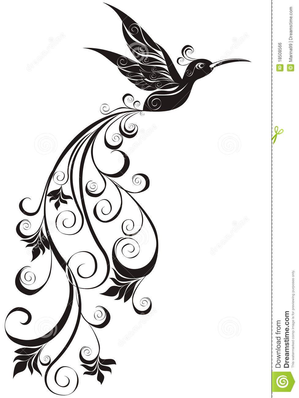 977x1300 Clip Art Black And White Hummingbird Clipart