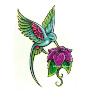 300x300 Free Hummingbird Tattoos Of Humming Bird Hummingbird Tattoo