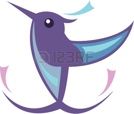 450x386 1,270 Hummingbird Exotic Bird Stock Vector Illustration