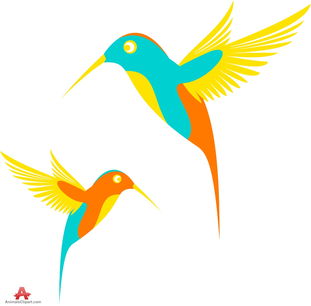 999x984 Hummingbirds Flying Clipart Free Clipart Design Download