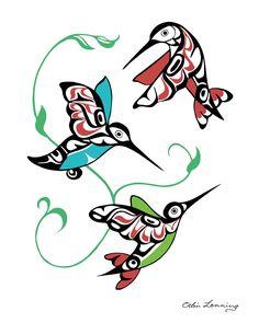 236x295 Haida Hummingbird Tattoo Lilzeu De Images Tattoo Lilzeu