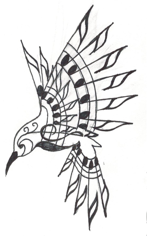 900x1440 Hummingbird Tattoo By Crystalchik