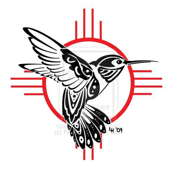 600x600 Variant Hummingbird Tattoo By Finaira Tattoos