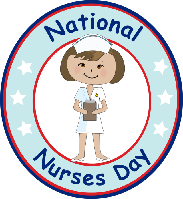 640x696 Grab This Clip Art For National Nurses Day