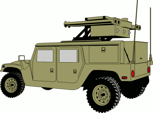 535x396 Military Clipart Military Vehicle