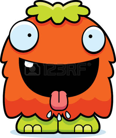 378x450 Creature Clipart Hungry Monster