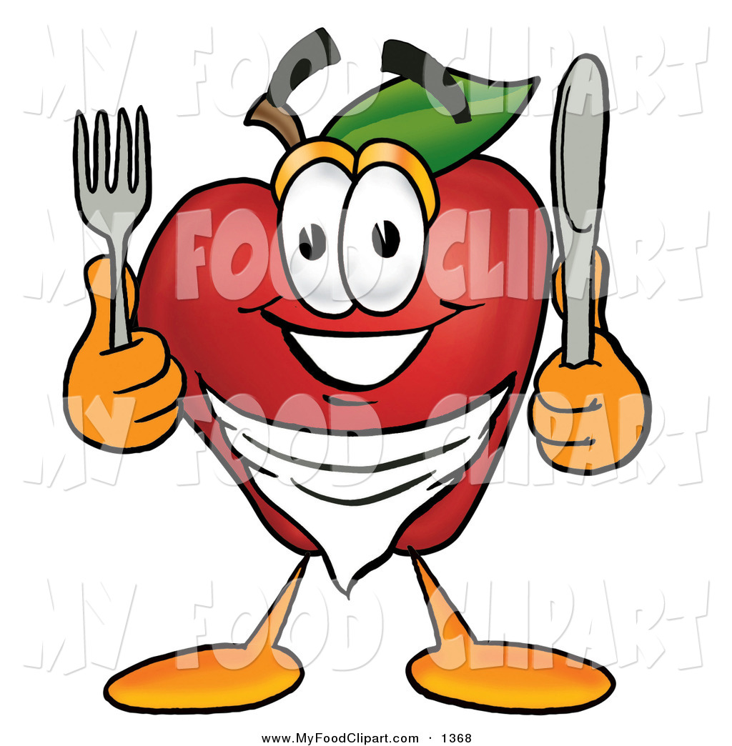 1024x1044 Food Clip Art Of A Happy And Smiling Hungry Red Apple Character