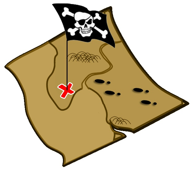 626x553 Treasure Map Clip Art