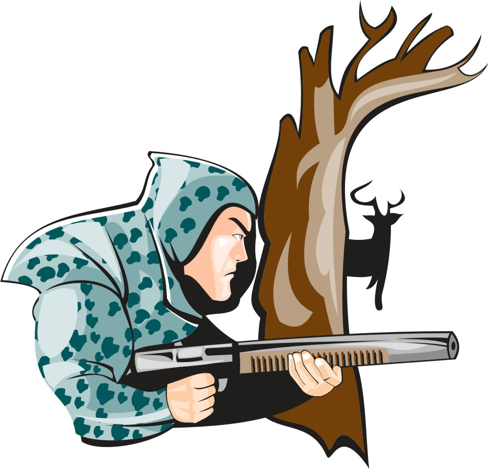 1000x960 Hunting Clip Art In Free Clipart