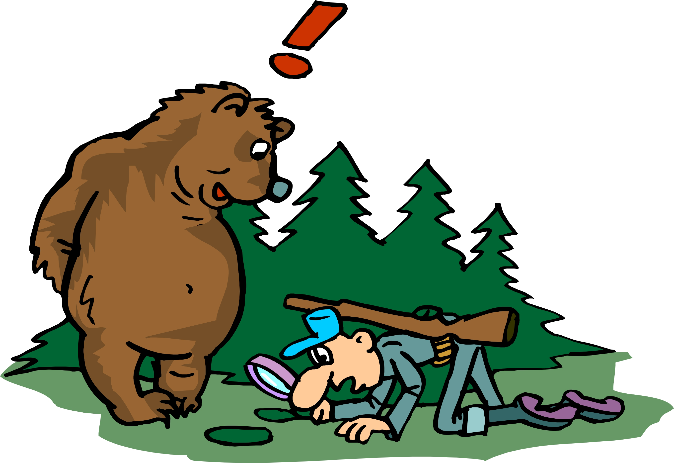 2705x1857 Hunting Clipart Funny