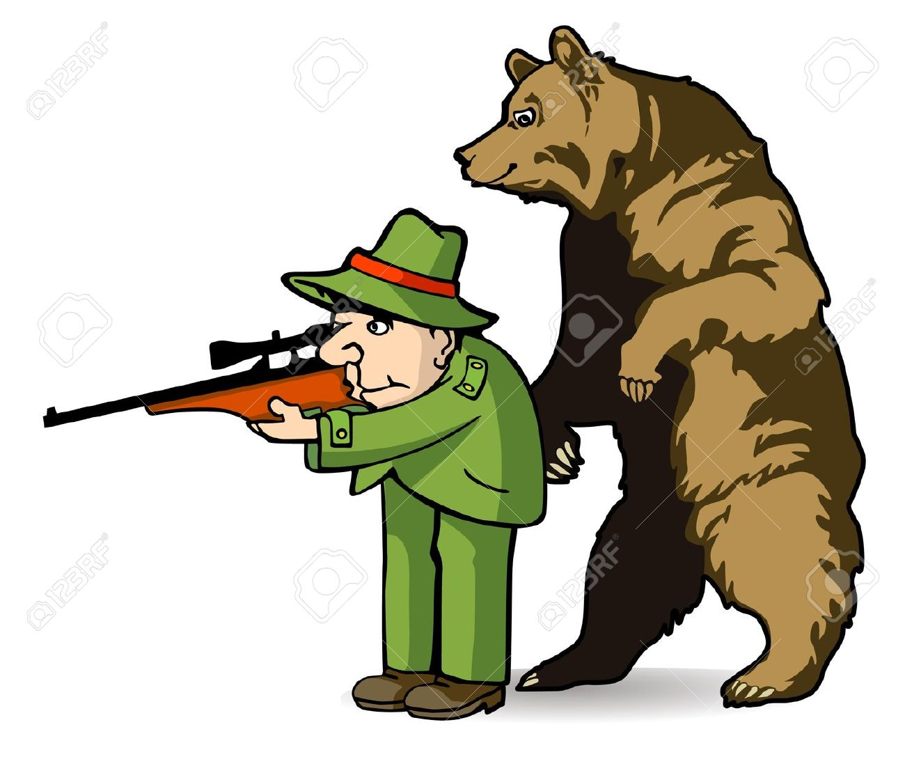 1300x1123 Funny Hunting Clipart