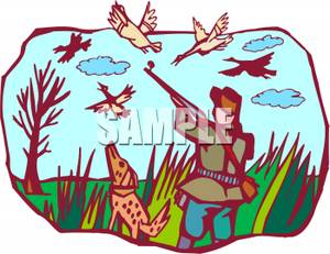 300x231 Hunting Clipart Bird Hunting