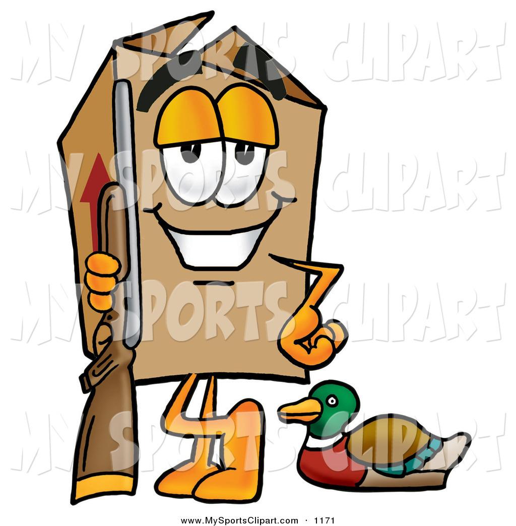 1024x1044 Sports Clip Art Of A Cheerful Cardboard Box Mascot Cartoon