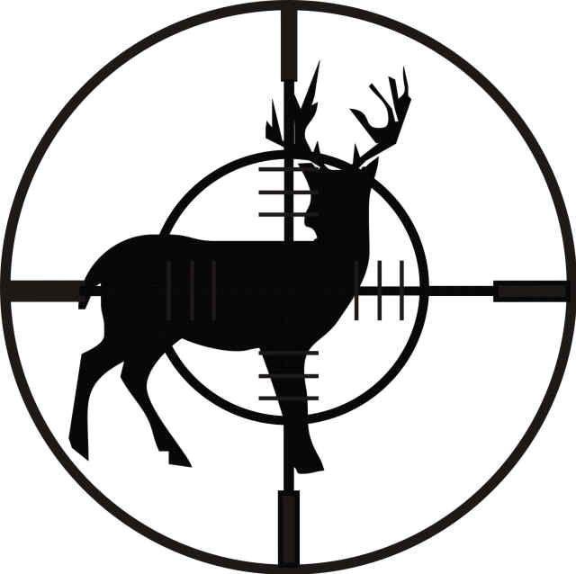 640x638 Buck Clipart Hunting