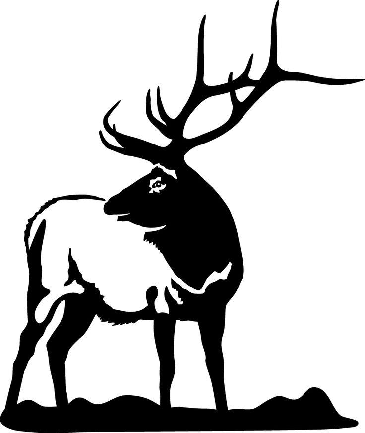 736x872 Hunting Clipart Bull Elk