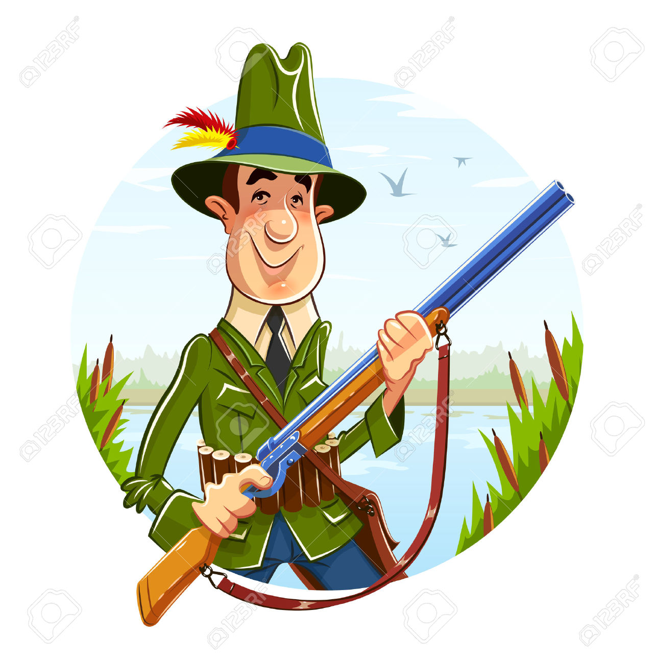 1281x1300 Hunting Clipart Man Hunting
