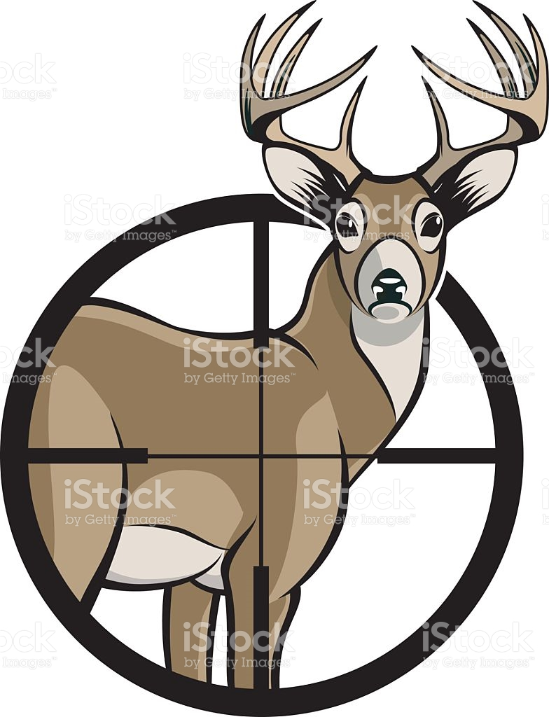 784x1024 Hunting Clipart Whitetail Buck