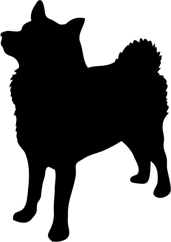 600x850 Dog Silhouette