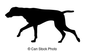 300x180 Hunting Dog Clipart