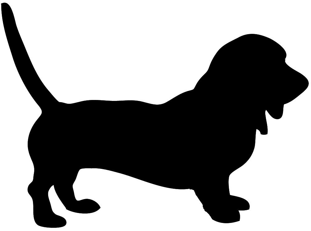 1000x744 Shadows Clipart Hunting Dog