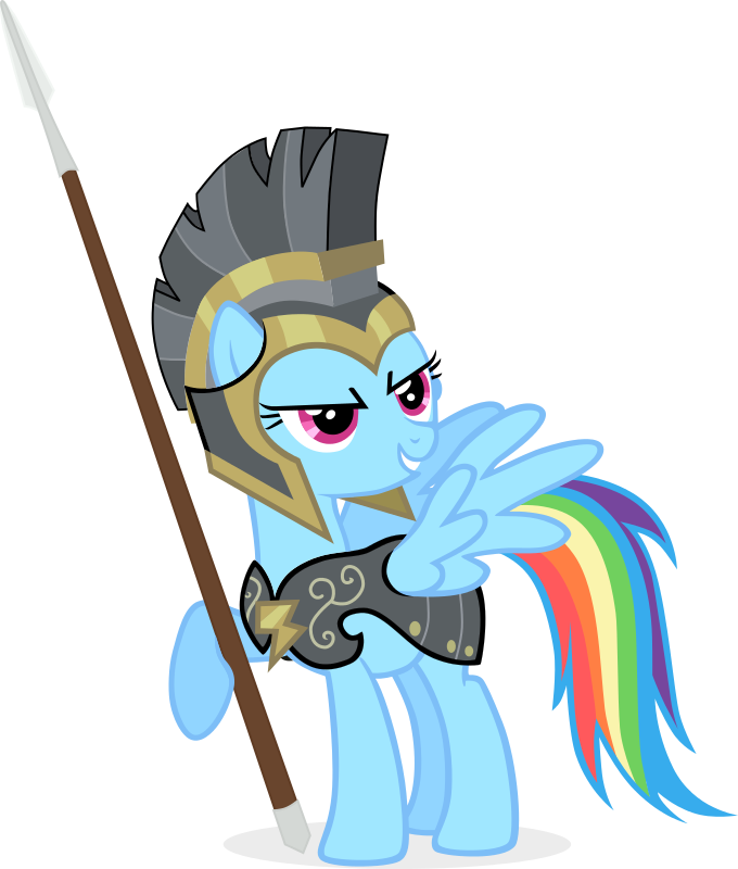 680x800 Rainbow Dash As Commander Hurricane By Redmondroshi